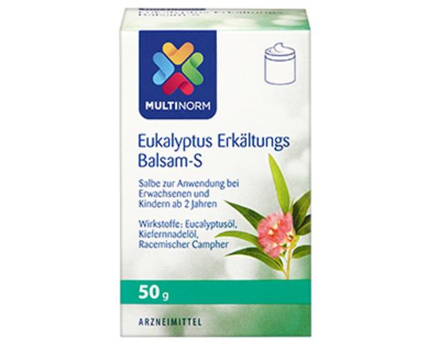 MULTINORM Eukalyptus Erkältungsbalsam-S