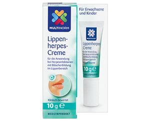 MULTINORM Lippenherpes-Creme