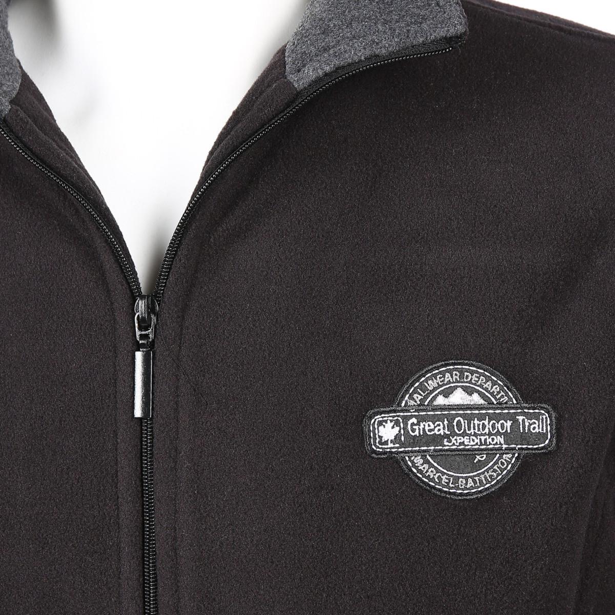 Bild 3 von Herren Fleece Jacke mit Reißverschluss
