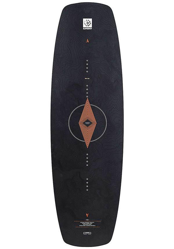 Slingshot Terrain 140cm - Wakeboard für Herren - Schwarz