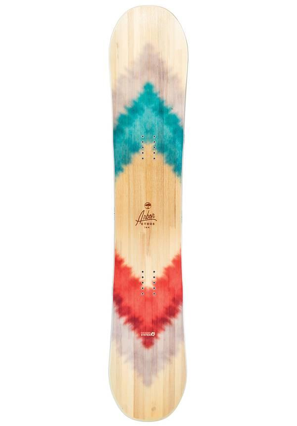 Arbor Ethos 141cm - Snowboard für Damen - Mehrfarbig
