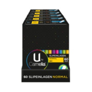 U by Camelia Slipeinlagen Normal, Ultra Binden oder Tampons