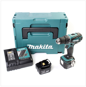 Makita Akku-Bohrschrauber DDF446RMJ Li-Ion, 14,4V, 2 x 4.0Ah, Schnell-Ladegerät, MAKPAC Koffer