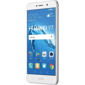 Huawei Y7 Smartphone 14 cm (5,5 Zoll) Display, 16 GB Speicher, Android 6.0, Farbe:Silber