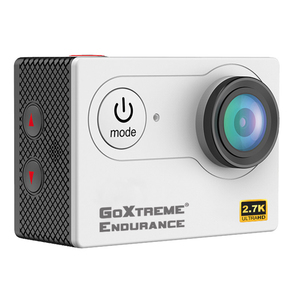 GOXTREME Endurance 4,1 Megapixel 4k Ultra High Definition Action-Kamera, 5,08 cm (2 Zoll) Display, CMOS-Sensor, HDMI, USB, WLAN, Speicherkarte, Weiß