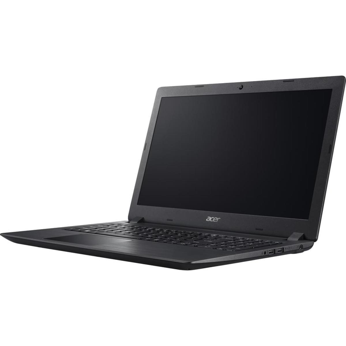 Bild 2 von Acer Notebook 39,60cm (15,6 Zoll), Intel Pentium N4200 Quad Core Prozessor (4 x bis zu 2,5 GHz), 4 GB RAM, 1000 GB Festplatte, Schwarz matt
