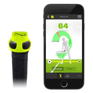 Zepp Bluetooth-Schlaganalyse-Aufsatz für Tennisschläger