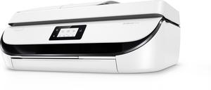 HP OfficeJet 5232, Tintenstrahl, 1200 x 1200 DPI, 100 Blätter, A4, Direkter Druck, Schwarz, Weiß