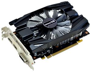 Inno3D VGA GeForce GTX 1060 Compact X1, 6GB GDDR5,HDMI,DVI,1xDP PCI-E mit CUDA; N1060-6DDN-N5GM