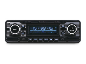 Caliber Retro Autoradio Cd/usb/sd 1 Din Rcd120/b