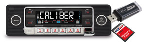Caliber Retro Autoradio Cd/usb/sd 1 Din Rcd110B