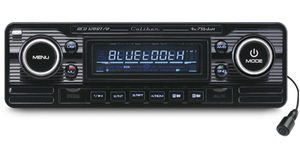 Caliber Retro Autoradio Cd/usb/sd/bt 1 Din Rcs120Bt/b