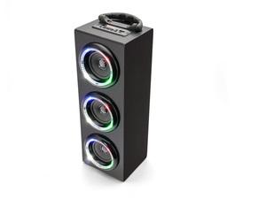 Caliber Tragbarer BT Lautsprecher mit LED HPG526BTL/B