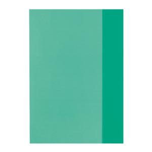 Herlitz Hefthülle A5, transparent Grün