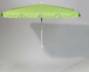 Silvertree Sonnenschirm Louis 180 x 120 cm, rechteckig, Farbe Limette