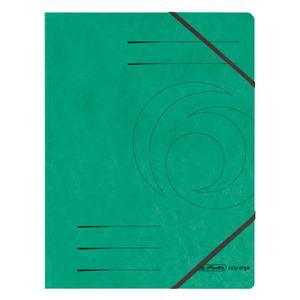 Herlitz Eckspanner Colorspan grün A4