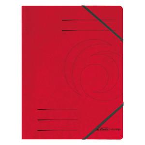 Herlitz Eckspanner Colorspan rot A4