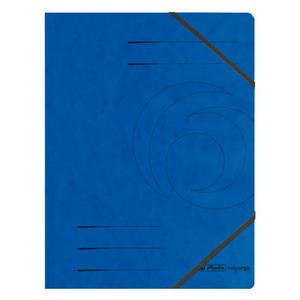 Herlitz Eckspanner Colorspan blau A4