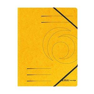 herlitz Eckspanner easyorga A4 Colorspan Karton gelb
