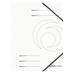 Herlitz Eckspanner Colorspan weiß A4
