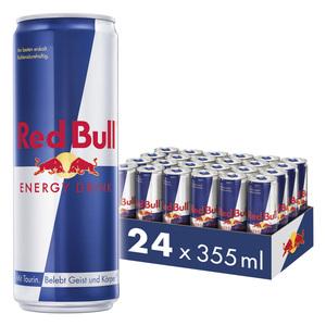 Red Bull Energy Drink 24 x 355 ml Dosen Getränke, 24er Palette inkl. 6,00€ Pfand