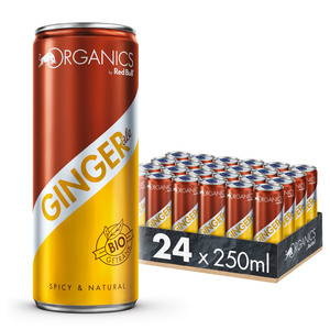 Organics by Red Bull Ginger Ale 24 x 250 ml DosenGetränke inkl. 6,00 € Pfand
