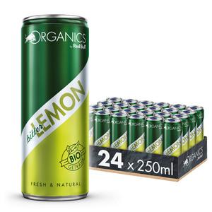 Organics by Red Bull Bitter Lemon 24 x 250 ml DosenGetränke, 24er Palette inkl. 6,00€ Pfand