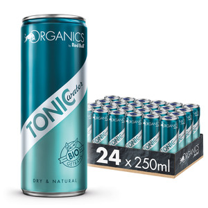 Organics by Red Bull Tonic Water 24 x 250 ml DosenGetränke inkl. 6,00€ Pfand