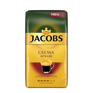 Jacobs Crema Intenso Expertenröstung | ganze Bohne | 1000g