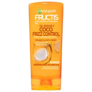 Fructis Spülung Oil Repair3 Coco Frizz Control 200ml für widerspenstiges und trockenes Haar