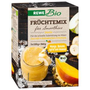 REWE Bio Früchtemix für Smoothies Exotik 3x120g