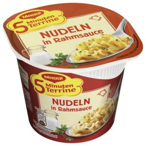 Maggi 5 Minuten Terrine Nudeln in Rahmsauce