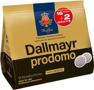 Dallmayr Prodomo Pads + 2 Pas mehr, 126g