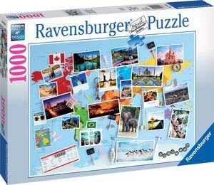 Ravensburger 1000 Teile Puzzle - Reise um die Welt