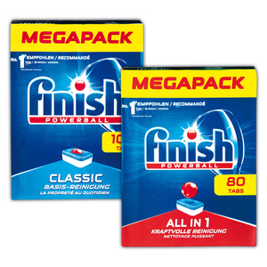 Finish Calgonit All in 1 / Classic