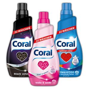 Coral Waschmittel flüssig