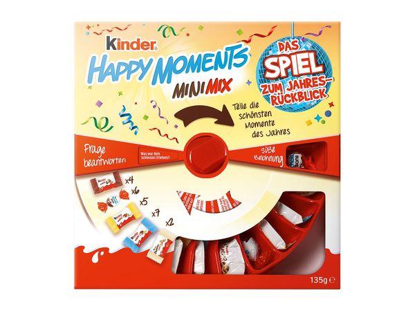 "Kinder Happy Moments Mini-Mix ""Jahresrückblicksspiel"""
