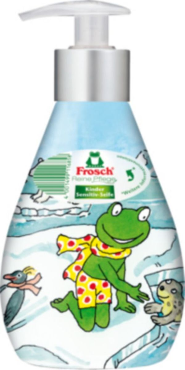 Frosch Kinder Sensitiv-Seife Deko 300 ml