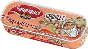 Gegrillte Makrelen-Filets mit Barbecue-Sauce 120g