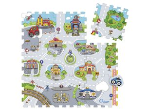 Chicco Puzzlematte 9-teilig City