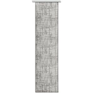 Schiebevorhang-Set TURBO - grau-silber - 60x245 cm