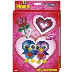 HAMA - Bügelperlen: Love, 2000 Stück