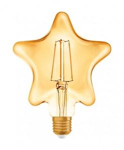 Osram LED Glühlampe Vintage 1906 Stern ,  E27 - 4,5W, Filament, klar