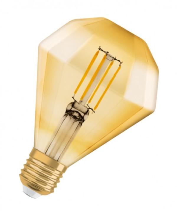 Osram LED Glühlampe Vintage 1906 Diamant ,  E27 - 4,5W, klar