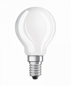 Osram LED Tropfenlampe RF Classic P25 ,  E 14 - 3 W, Filament, matt
