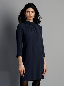 Kleid 3/4-Arm GOAT blau