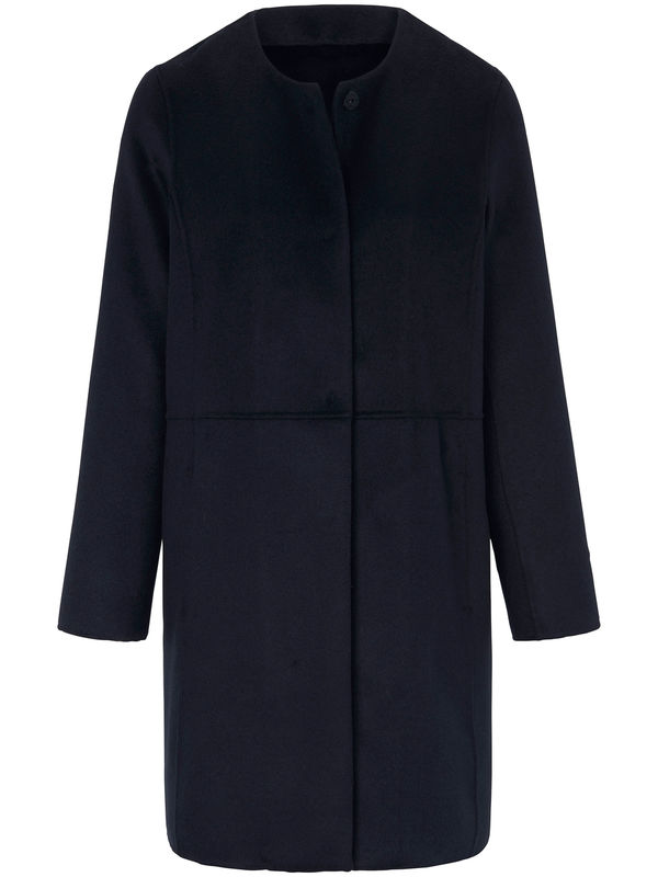 Jacke aus hochwertigem Material-Mix Laura Biagiotti Donna blau