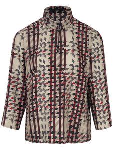 Bluse aus 100% Seide Windsor mehrfarbig