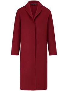 Mantel aus hochwertigem Material-Mix Fadenmeister Berlin rot