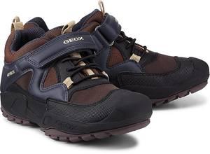 Sneaker J N.savage B. von Geox in braun für Jungen. Gr. 33,34,35,36,37,38